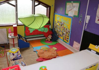 inside of nursery