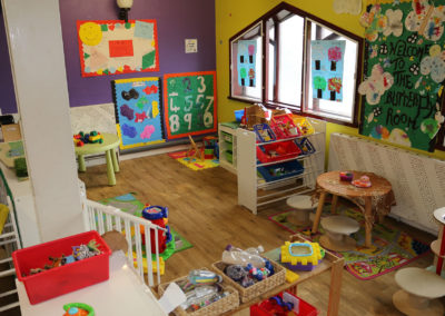 inside of nursery